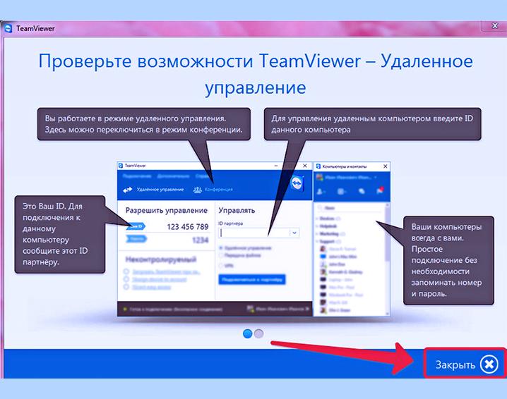 TeamViewer-vhod